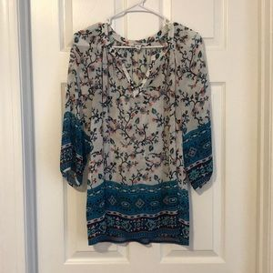 Old Navy Floral Blouse - size M